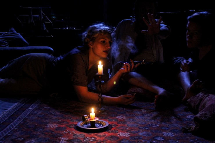 'A Bright Room Called Day', Southwark Playhouse, © Jack Sain 2014
