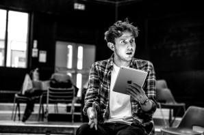 'Four Play' (Old Vic). Joshua McCord in rehearsal. © Jack Sain 2015