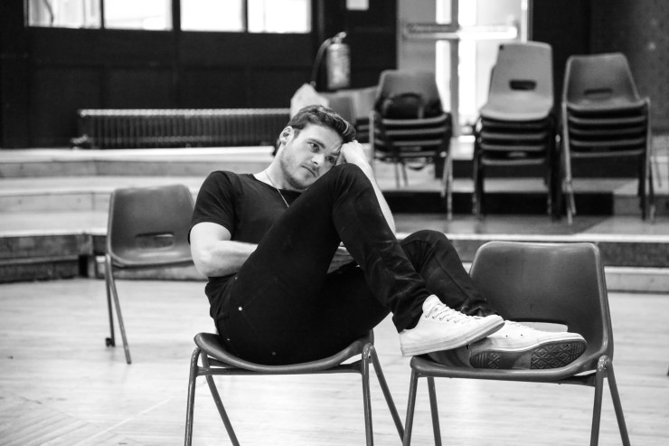 'Four Play' (Old Vic). Richard Madden in rehearsal. © Jack Sain 2015