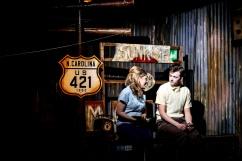 Olivia Poulet and Joshua Miles, 'How I Learned To Drive', Southwark Playhouse. © Jack Sain 2015.