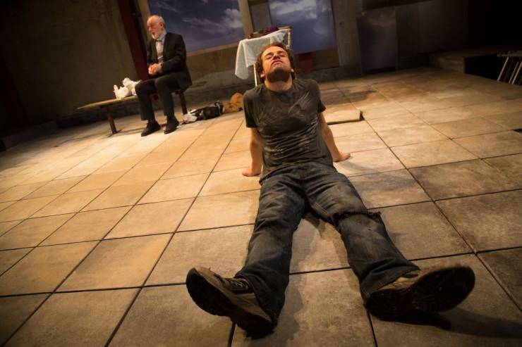 Alex Waldmann & Peter Egan. 'Jonah & Otto' (Park Theatre). © Jack Sain 2014