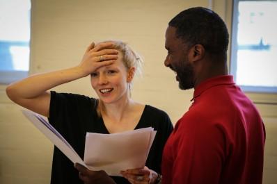 'Valhalla' rehearsals, Theatre 503. © Jack Sain 2015